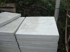 Тротуарная плитка Квадрат в шестигранниках 50х50х5 см
