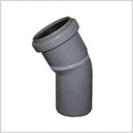 Колени (отводы) ПВХ 45°